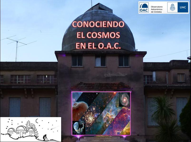 """Curso """"Conociendo el Cosmos"""" en el Observatorio Astronómico Córdoba (U.N.C.)"""