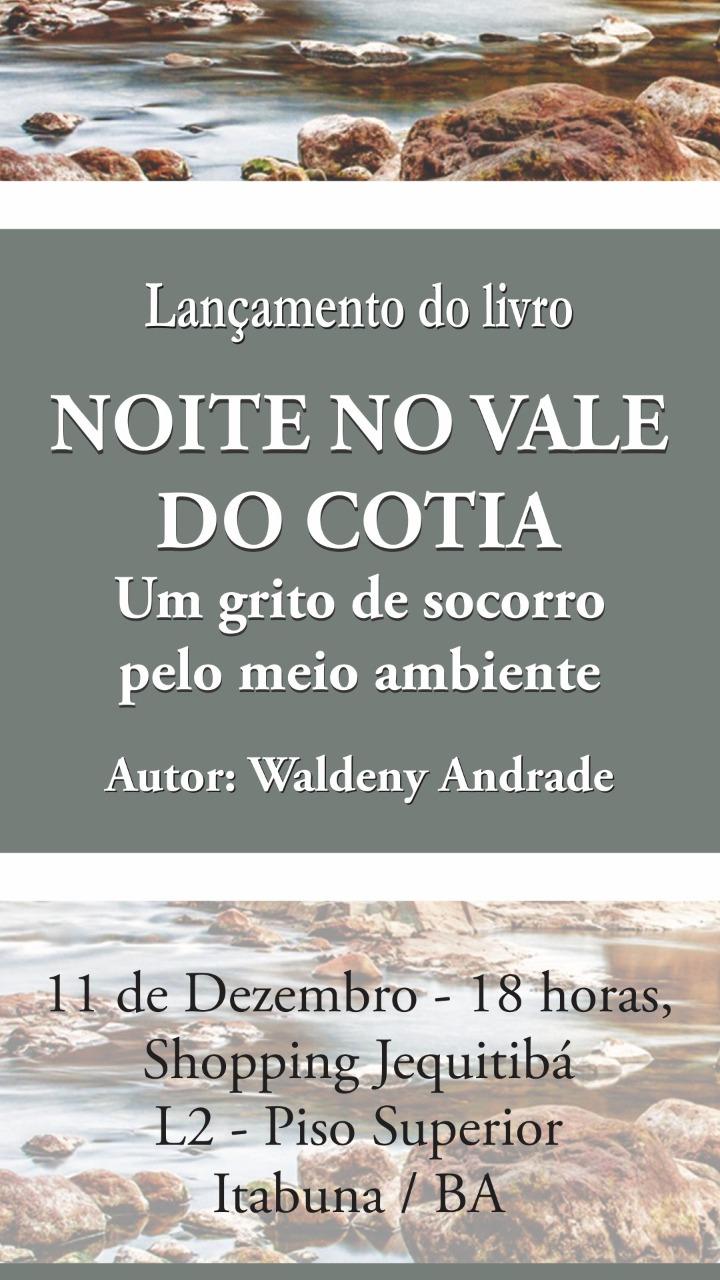 Quarto livro de Waldeny Andrade