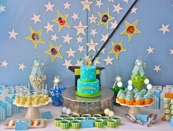 Party frosting magic theme party ideas and inspiration for 1st birthday party decoration ideas boys