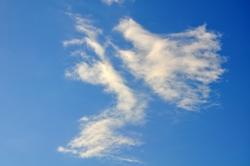 Ein blauer Himmel...