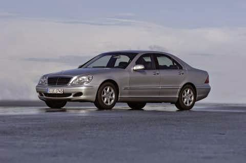Mercedes Benz S-Class Silver