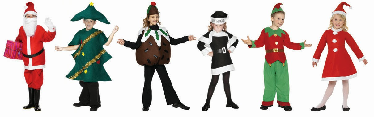 Christmas Party Fancy Dress Ideas Part - 34: Santa Boy | Christmas Tree | Christmas Pudding | Bah Humbug | Christmas Elf  | Santa Girl