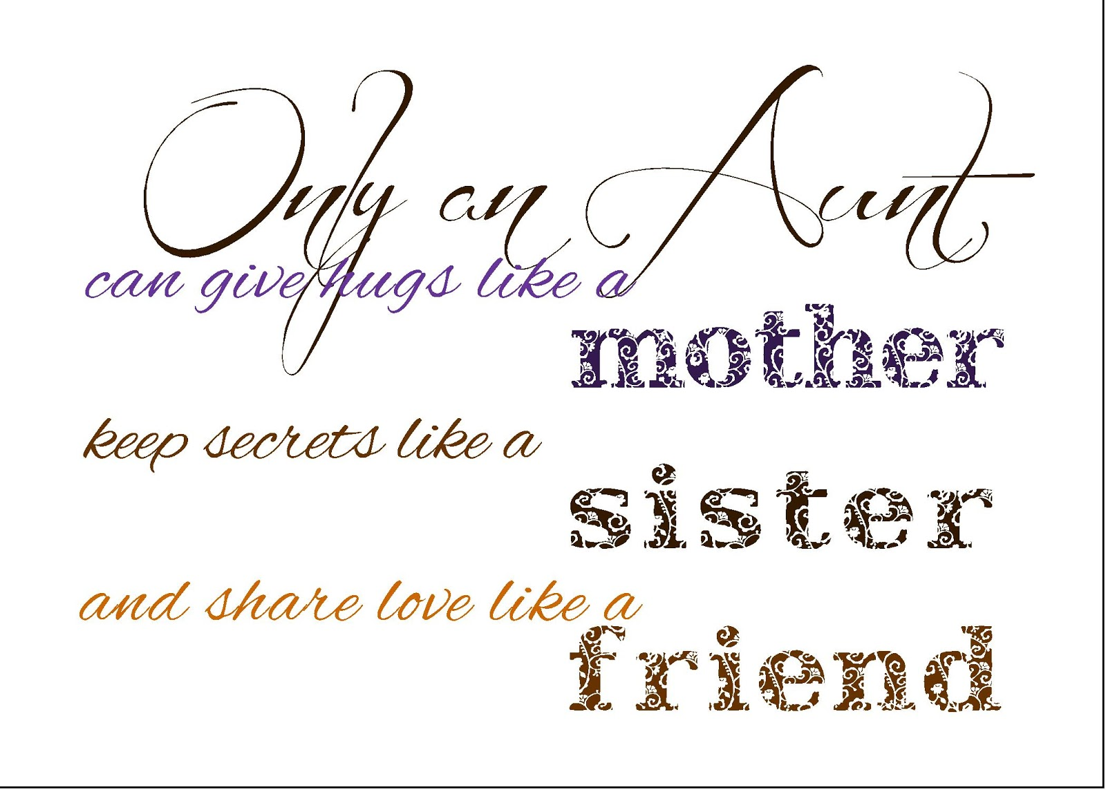 How To: Be the Favorite Auntie: February 2013