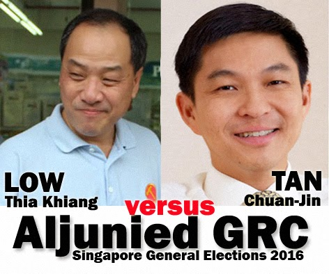 Singapore GE Prediction Aljunied GRC