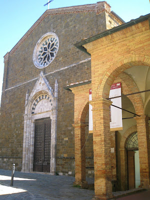 Sant'Agostingo church and Montalcino's museum: the ex-convent of the monastery
