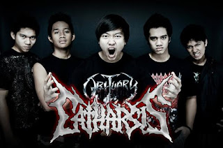 Catharsis Band Technical Death Metal Jakarta Foto Wallpaper Artwork Cver Logo