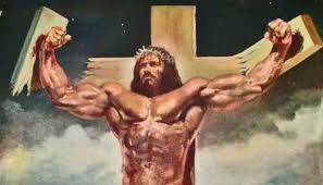 American Jesus -Muscular Warrior?