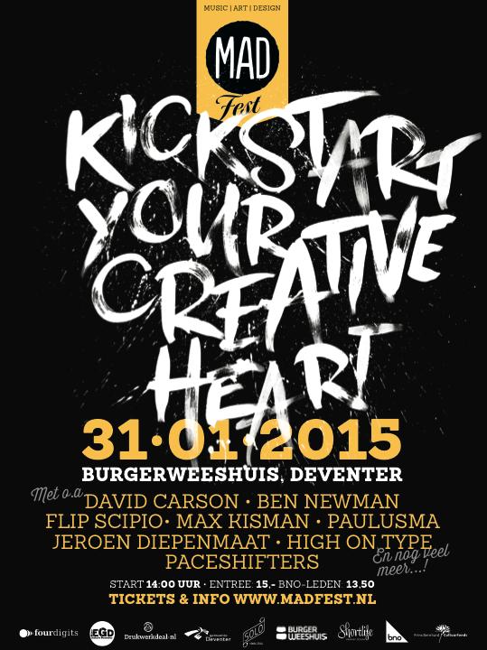 MADfest 2015 Kickstart your creative heart!