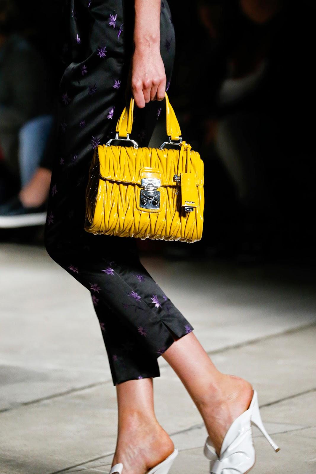 #PFW: Miu Miu Spring/Summer 15 Bags Report