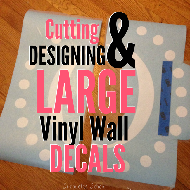 Cutting Large Vinyl Decals With Silhouette Part Of - How to make vinyl wall decals with silhouette cameo