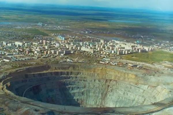 Popigai crater, Russia