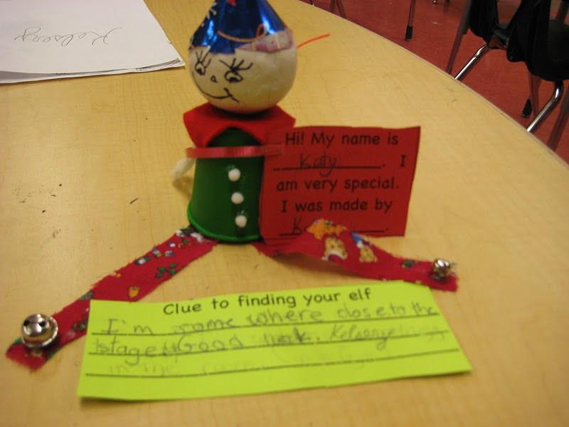 Mrs. Liebel's Classroom: We Made Elf on The Shelf!