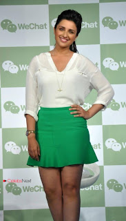Bollywood Actress Parineeti Chopra Picture Gallery at WeChat Messenger Launch  0002.jpg