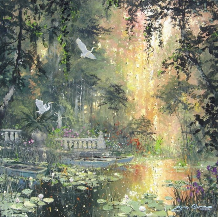 James Coleman 1949 | American Impressionist painter