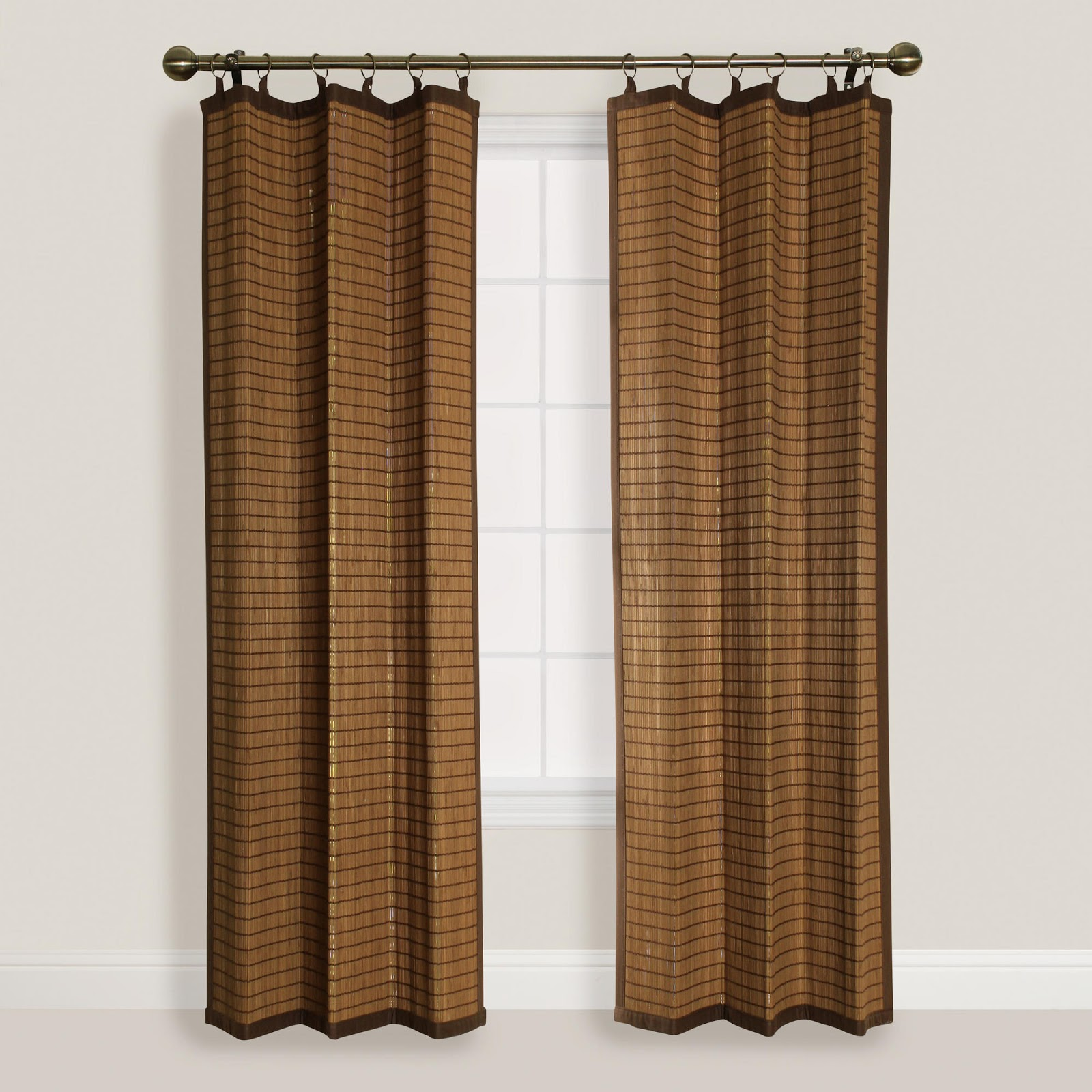 Bamboo Curtains For Doors Canvas Curtains for Outdoors