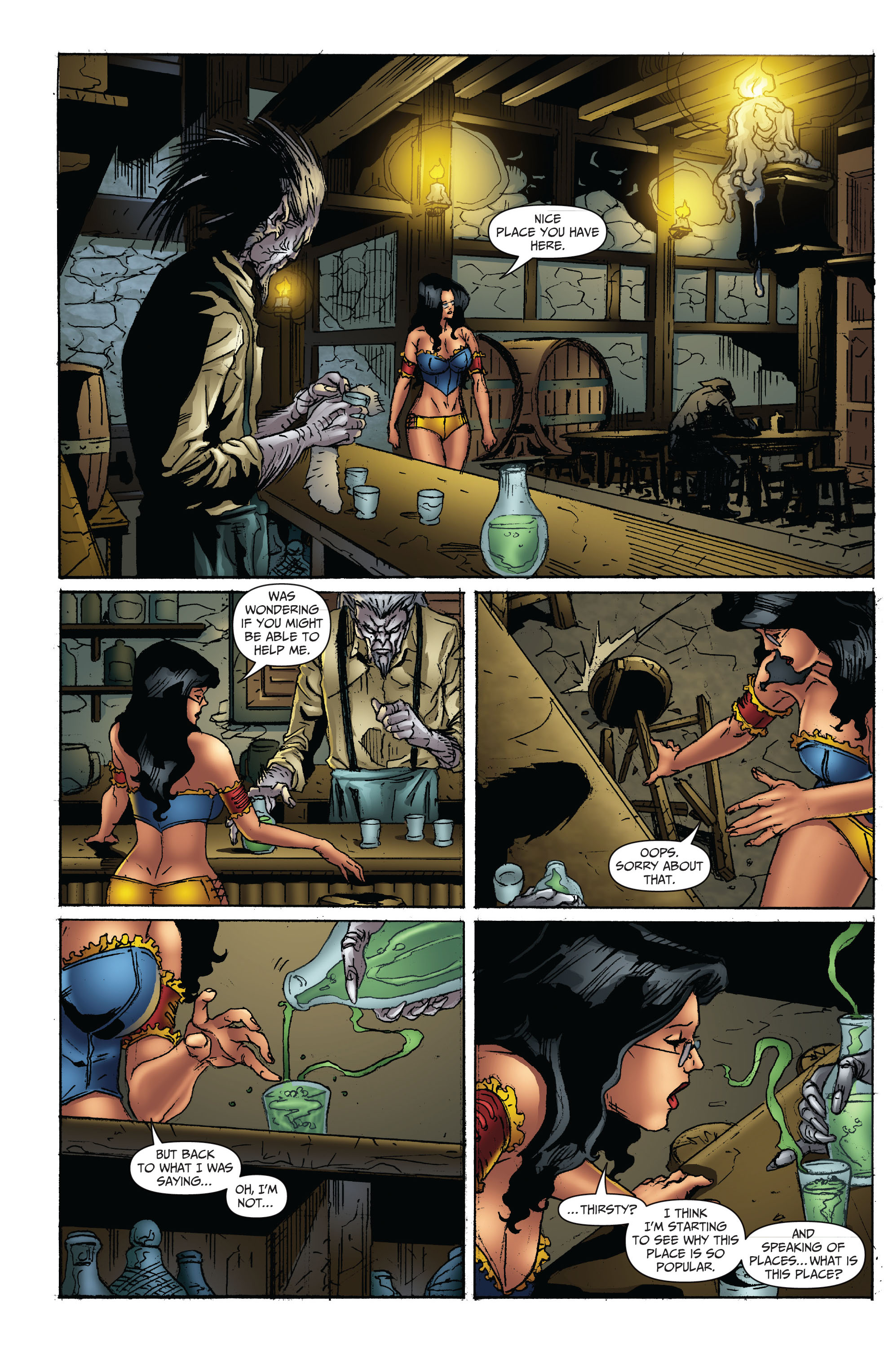Grimm Fairy Tales (2005) Issue #71 #74 - English 12