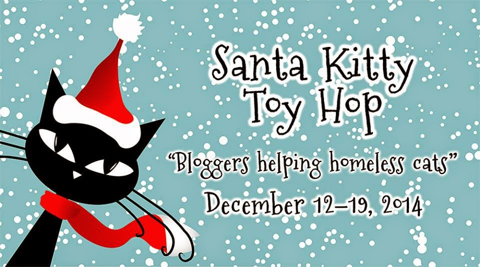 Santa Kitty Toy Hop