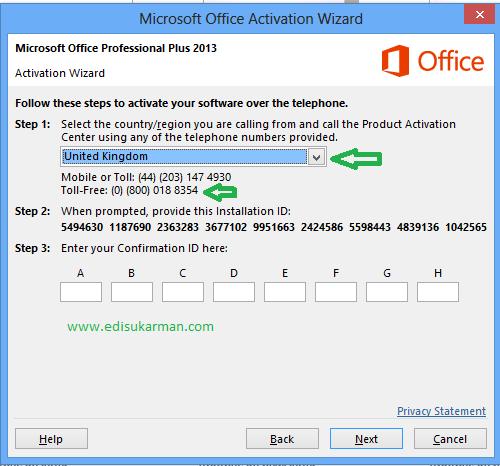 ms office 2010 confirmation id generator