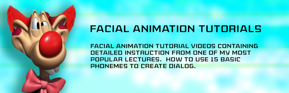 Facial Animation Tutorials in Maya - Thinking Animation - Angie Jones