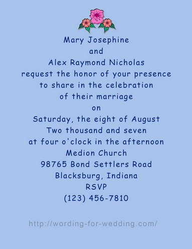 Bride inviting friends for wedding wording for invitations