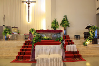 serafien - perangkai bunga liturgis: dekorasi natal