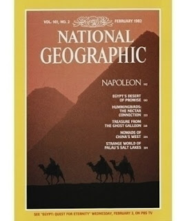 cover majalah National Geographic