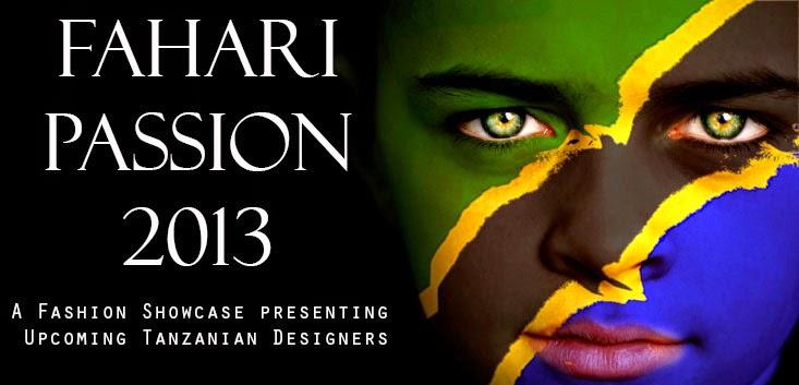 Fahari Passion Tanzanian Fashion Show Logo