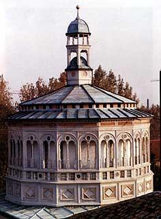 Tiburio parte strutturale esterna che riveste una cupola di una chiesa, basilica convento ecc.