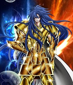 Wallpaper Gemini Aspros (Saint Seiya)