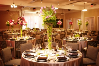 Decorating Ideas For Wedding Reception
