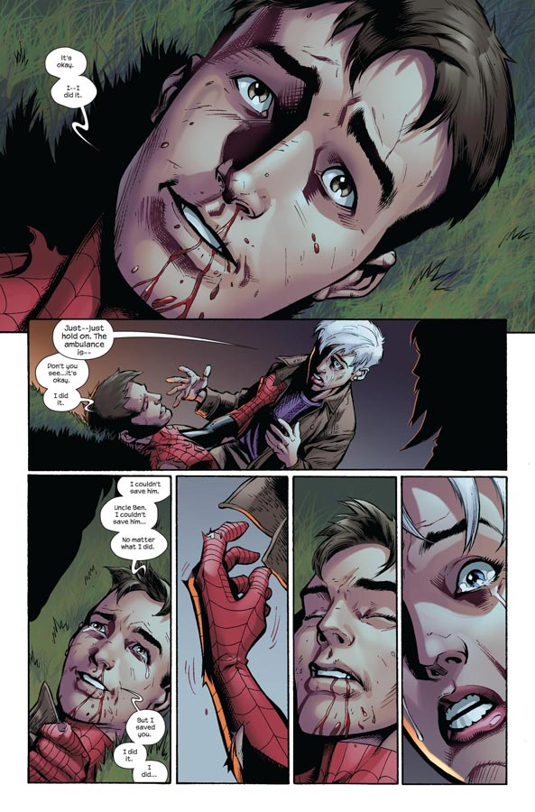 Spiderman esta muerto definitivamente [Marvel Comics 2011]