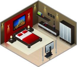 Dimensiones de un dormitorio dormitorios con estilo for Dimensiones de cama matrimonial