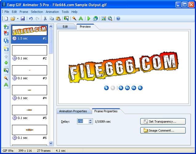 Easy gif animator 61 setup + crackrar (176 mb)