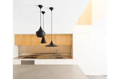 Houten keuken moderne keuken design trends 2012 herontwerpen van keuken interierus - Planken modern design ...