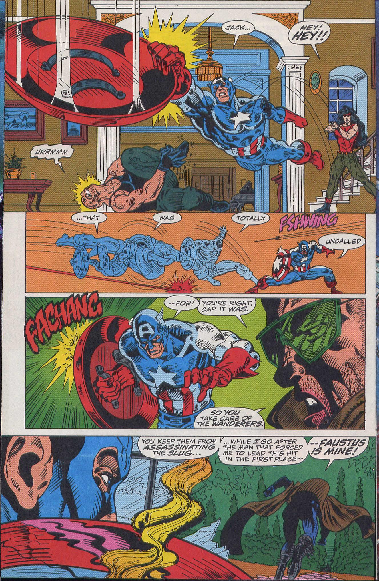 Captain America (1968) Issue #420b #370 - English 4