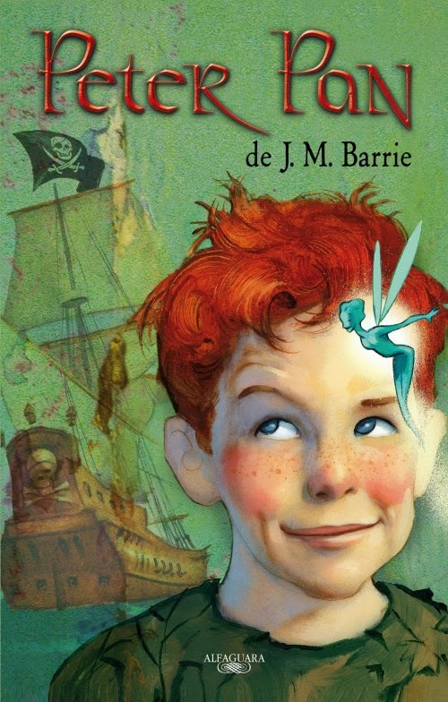 Restos de Sal: Reseña: Peter Pan. - James Matthew Barrie