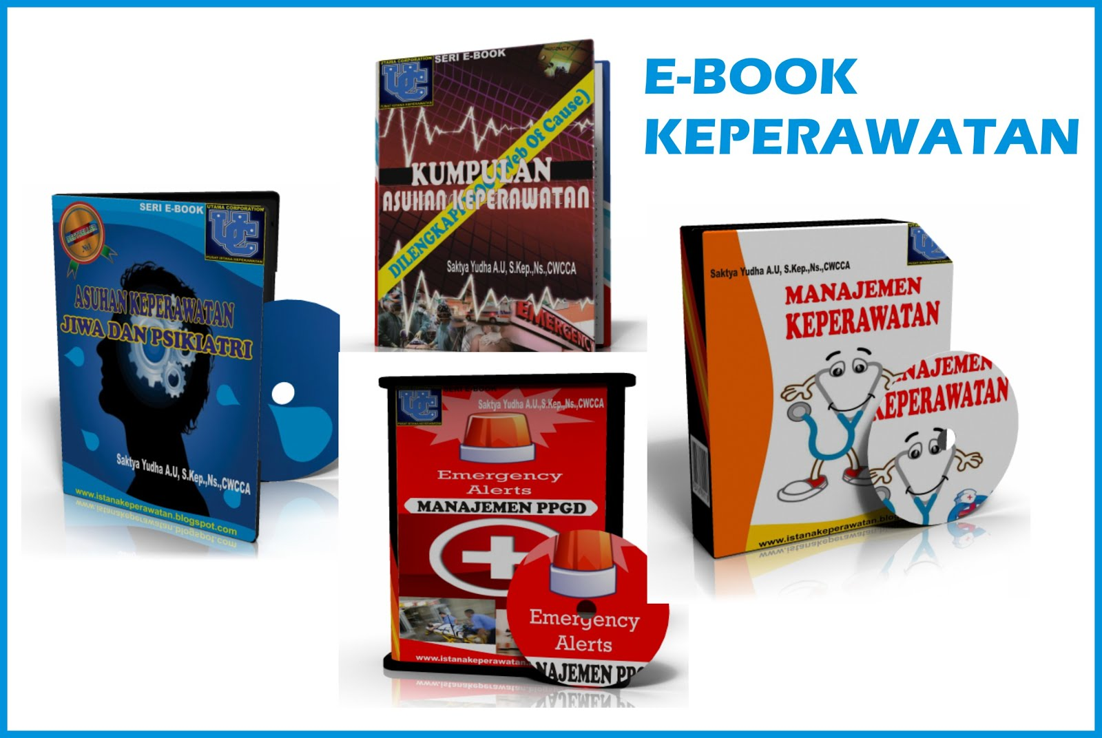 Produk E-Book Keperawatan