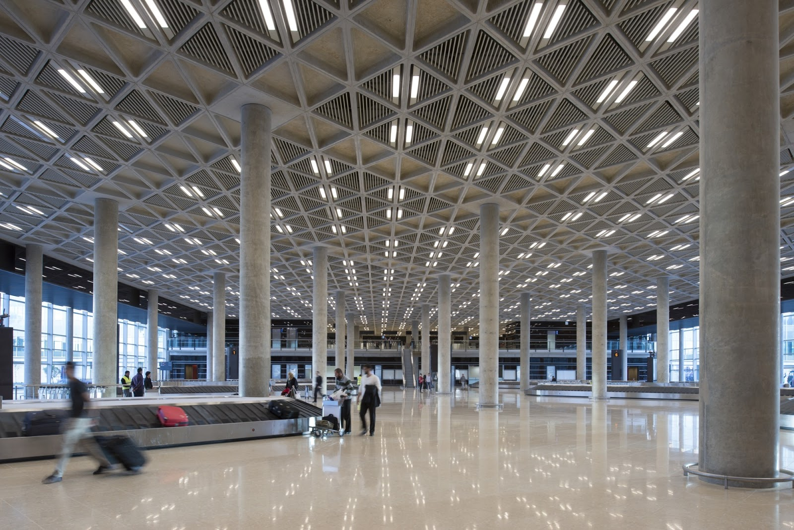 Void Matters Architecture References Queen Alia International Airport Foster Partners
