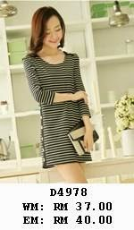 http://www.koreanstyleonline.com/2014/10/d4978-fashion-stripes-dress.html