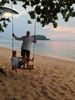 Mit dem klepper Faltboot in Thailand - Andaman See - Ko Libong Relax Resort