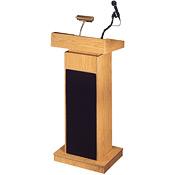 Lectern, not a podium