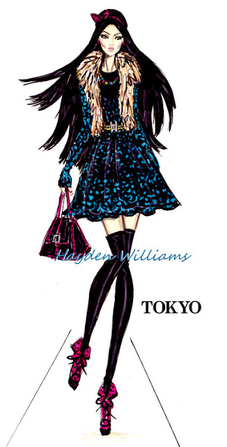 hayden williams fashion illustrator fashion drawing sketch illustration tokyo fashion week