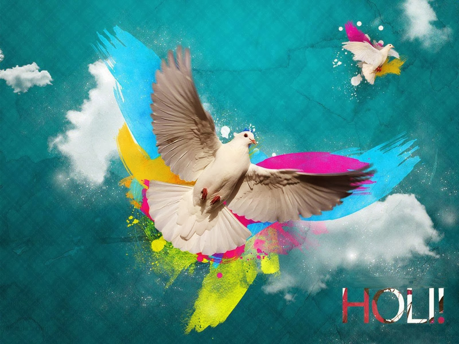 Colourful Happy Holi Wallpapers 2014