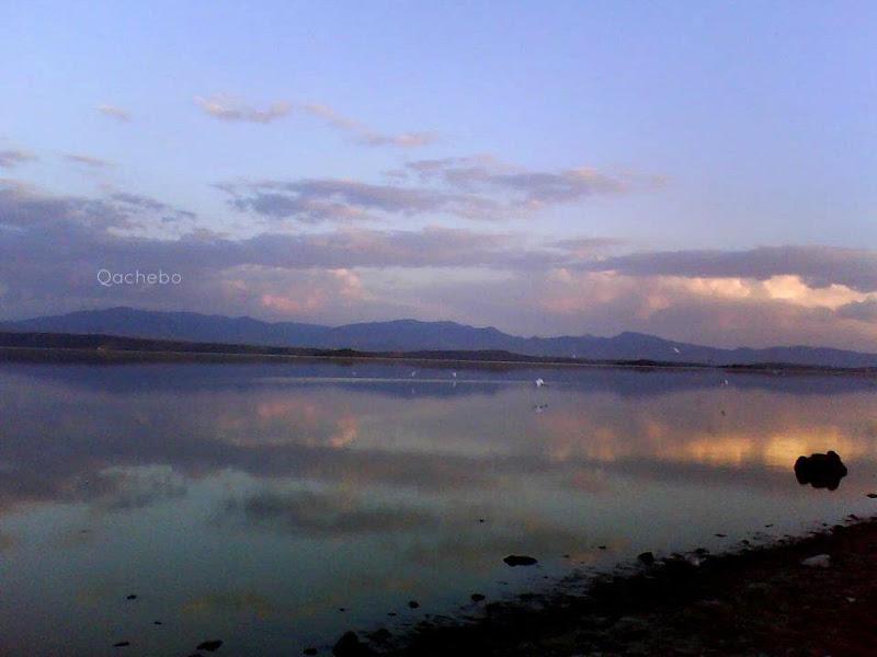 Atardecer Laguna de Cuitzeo