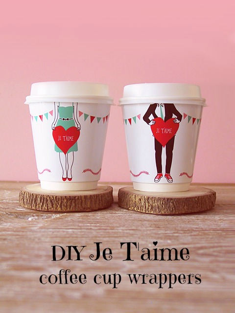cute cheap to achieve and perfect for all the coffee lovers out there you basically have to go here and download the printable pdfs and youre set - Cute Cheap Valentines Day Ideas