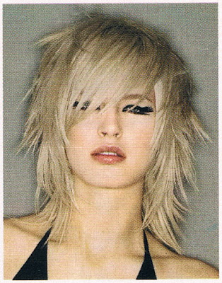 Shaggy Layered Hairstyle