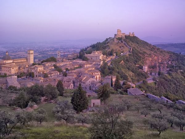 Sunrise Over Assisi