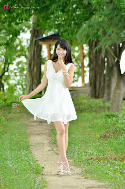 2 Cha Sun Hwa Outdoor  -Very cute asian girl - girlcute4u.blogspot.com