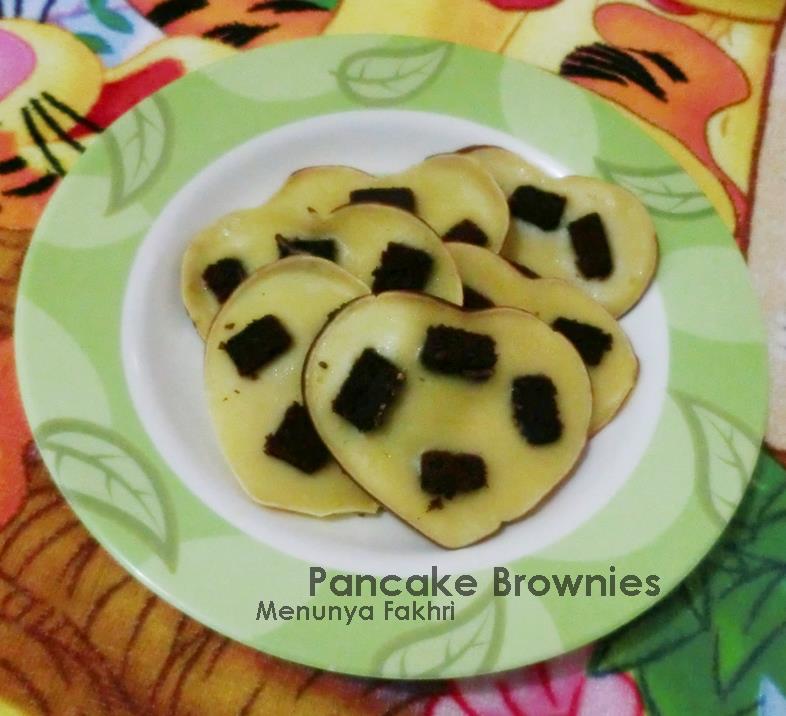 pancake brownies ragam menu untuk balita