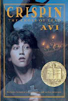 bookcover of NEWBERY WINNER Crispin: The Cross of Lead  by Avi